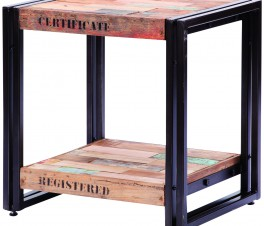 FERUM INDUSTRIAL SIDE TABLE