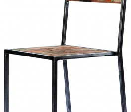 FERUM INDUSTRIAL DINNING CHAIR
